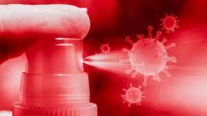 Coronavirus spray